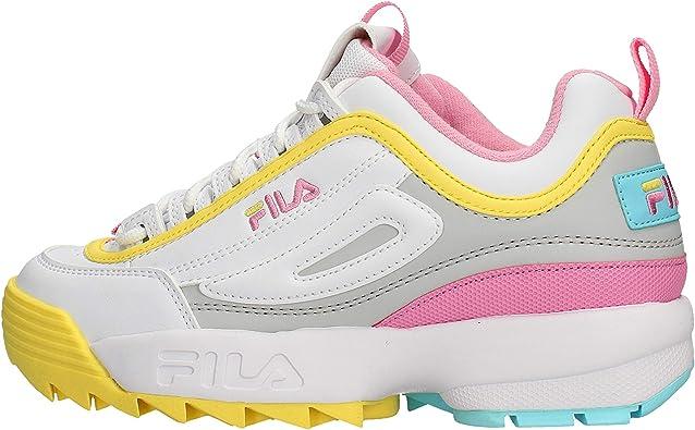 FILA Disruptor CB Low WMN Zapatillas Moda Mujeres Blanco Zapatillas Bajas: MainApps: Amazon.es: Zapatos y complementos