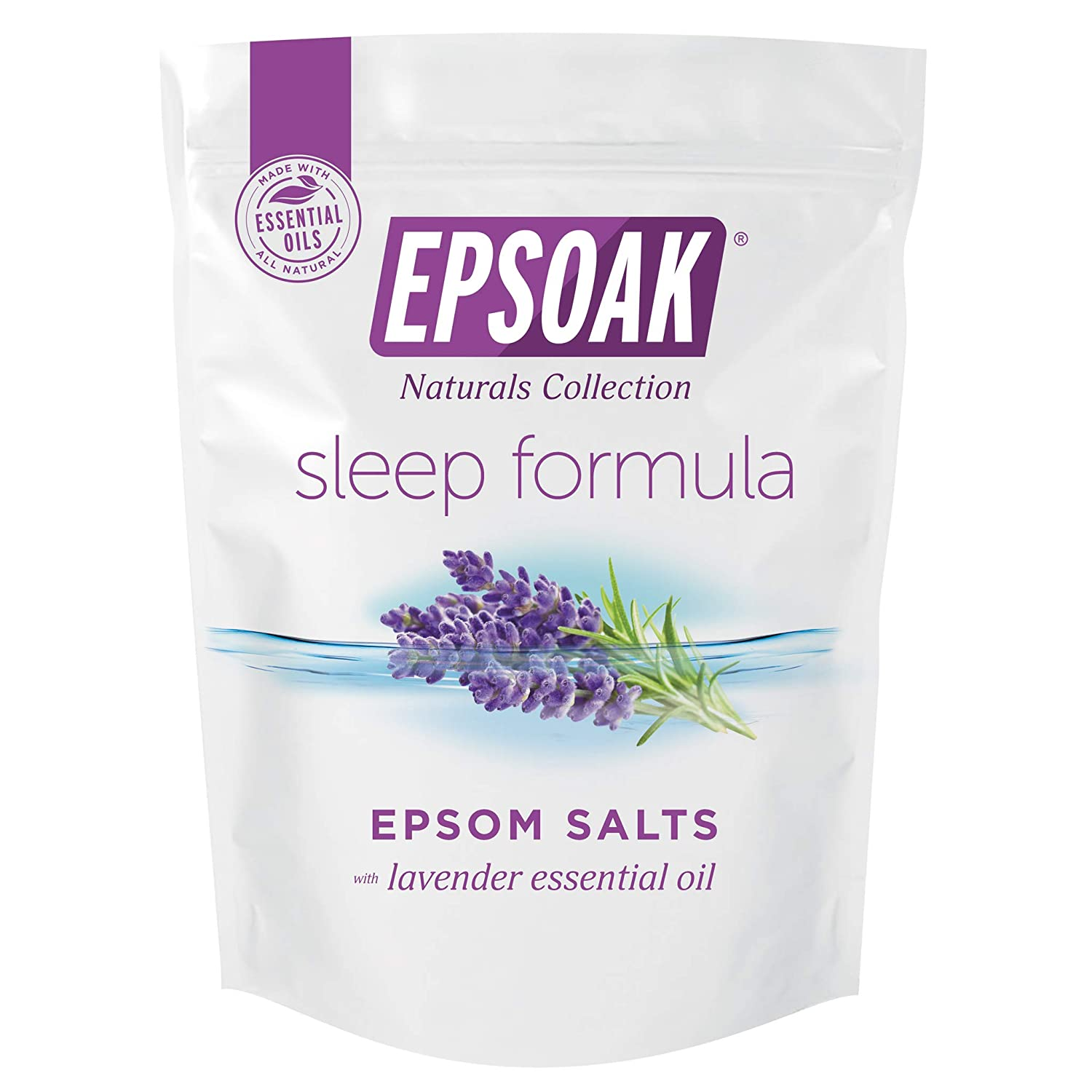 Epsoak Sleep Formula 5 lb. Bulk Bag Epsom Salt - San Francisco Salt Company