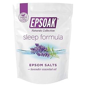 Epsoak Sleep Formula 5 lb. Bulk Bag Epsom Salt - San Francisco Salt Company