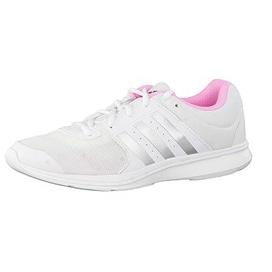 free shipping 59a30 b6620 adidas Damen Essential Fun 2 Laufschuhe BlancoPlateadoRosa (FtwblaPlamat