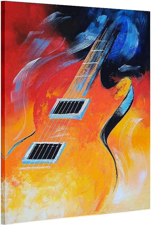 LVLUOYE Pintura al óleo Completamente Pintada a Mano Lienzo ...