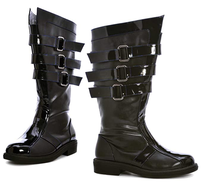 Steampunk Boots and Shoes for Men Ellie Shoes Mens Dark Lord Adult Boots  AT vintagedancer.com