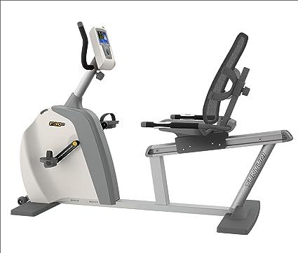Tunturi - Bicicleta Estática Reclinada F30R: Amazon.es: Deportes y ...