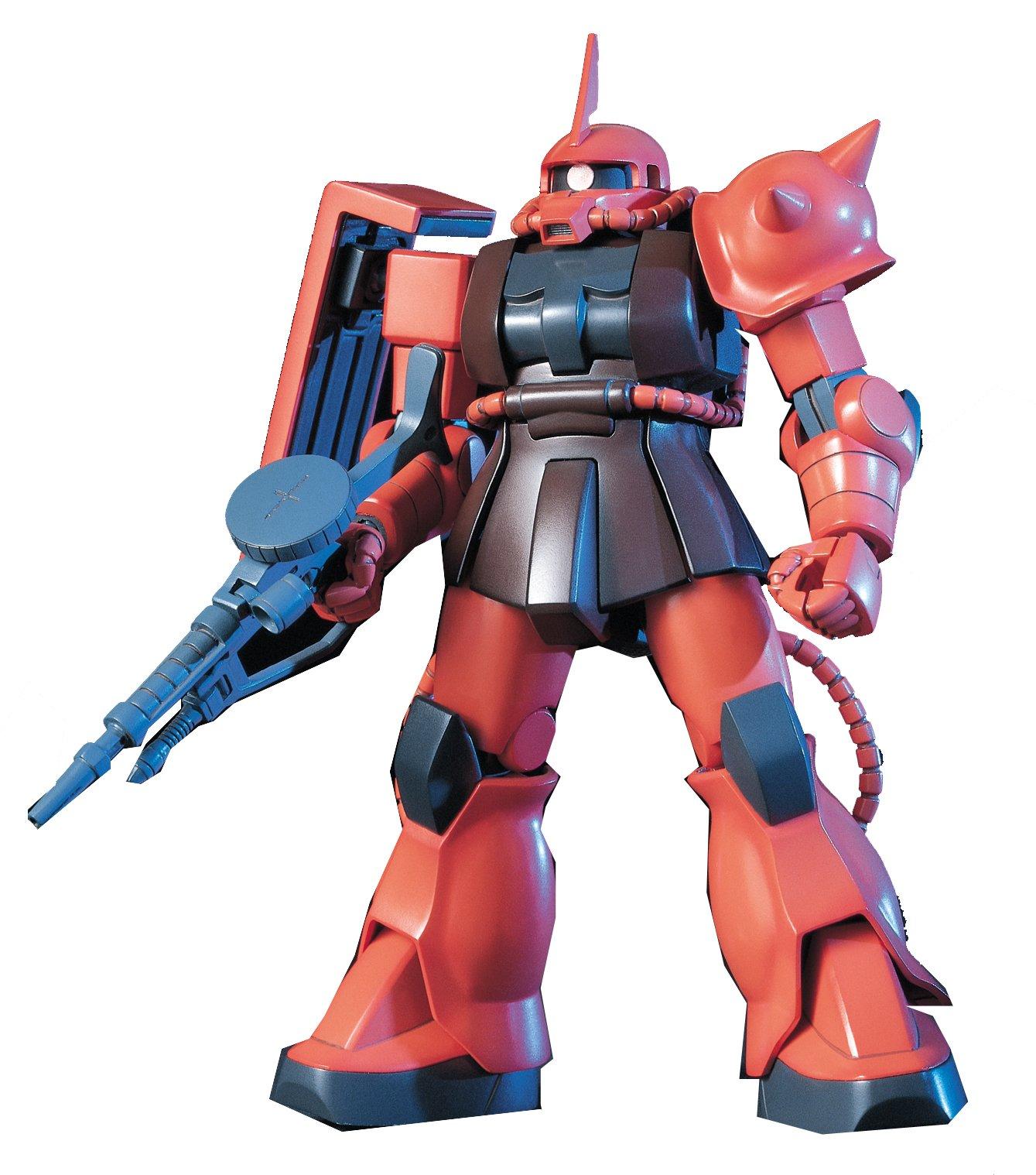 Gundam MS-06S Zaku II Char Custom HGUC 1/144 Scale