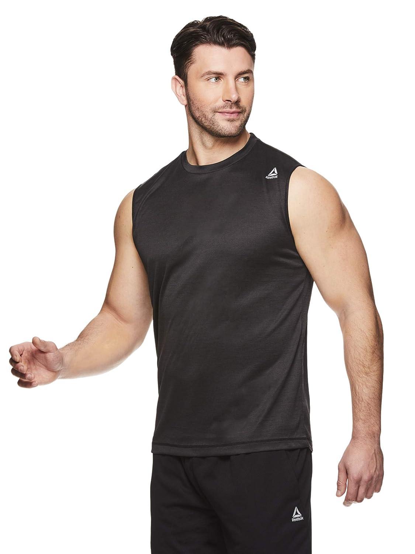 5ef1ea55 Reebok Men's Muscle Tank Top - Sleeveless Workout & Training Activewear Gym  Shirt
