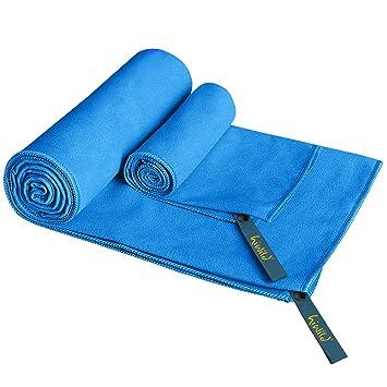 "Microfibra, hiwild 2 pieza microfibra toalla toallas de mano Set 52 ""x"