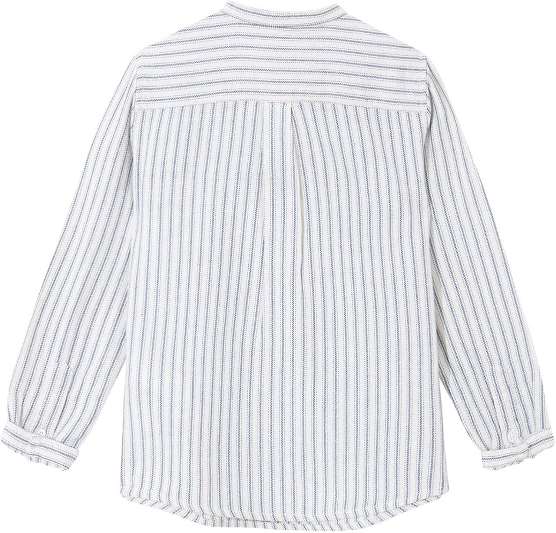 Gocco Jungen Camisa Rayas Cuello Mao Businesshemd
