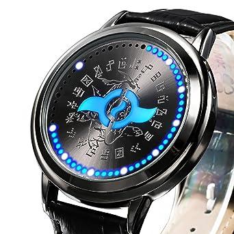wildforlife Digimon Aventura Tri. Yamato Escudo de Amistad de coleccionista Edition Touch LED Reloj: Amazon.es: Relojes