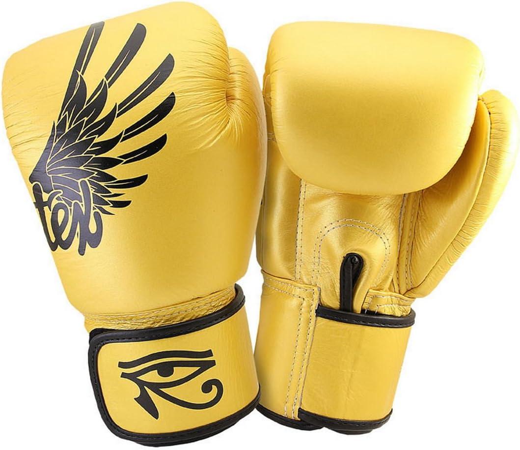 Fairtex Falconムエタイキックボクシング総合格闘技k1手袋ゴールドカラーbgv1 tight-fitデザイン  12 oz