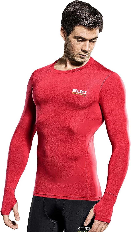 SELECT T-Shirt de Compression /à Manches Longues pour