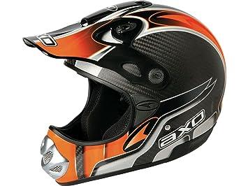 AXO Casco Motocross MM Carbon Evo Naranja XS (53-54 cm)