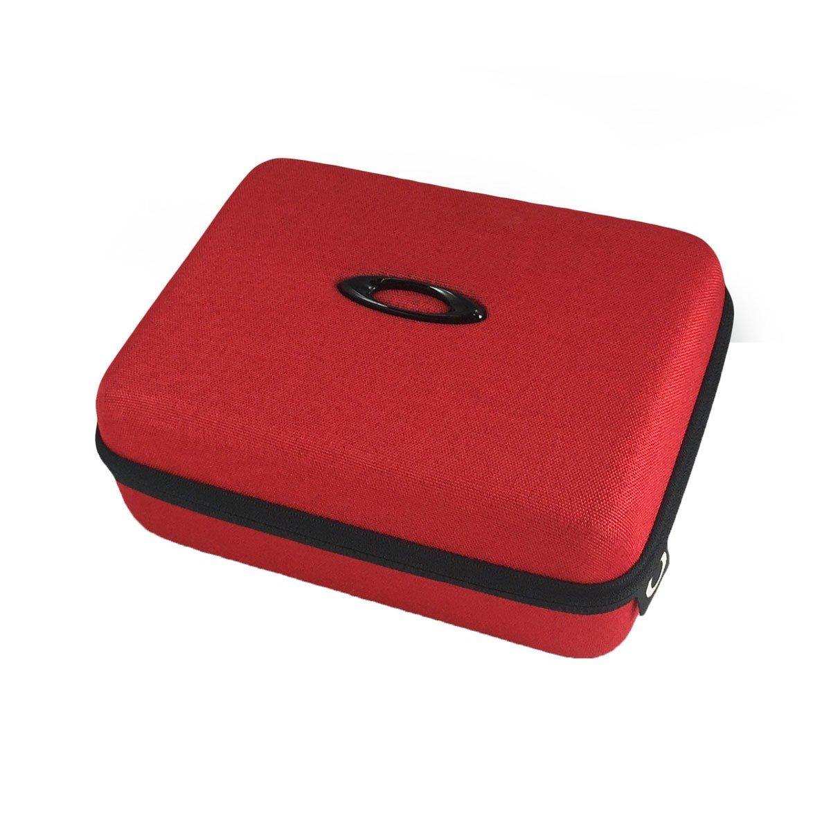Oakley Ellipse O Array Case Sunglass Accessories - Red/One Size by Oakley