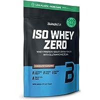 BioTechUSA Iso Whey ZERO, Lactose, Gluten, Sugar FREE, Premium Whey Protein Isolate, 1.816 kg, Chocolate
