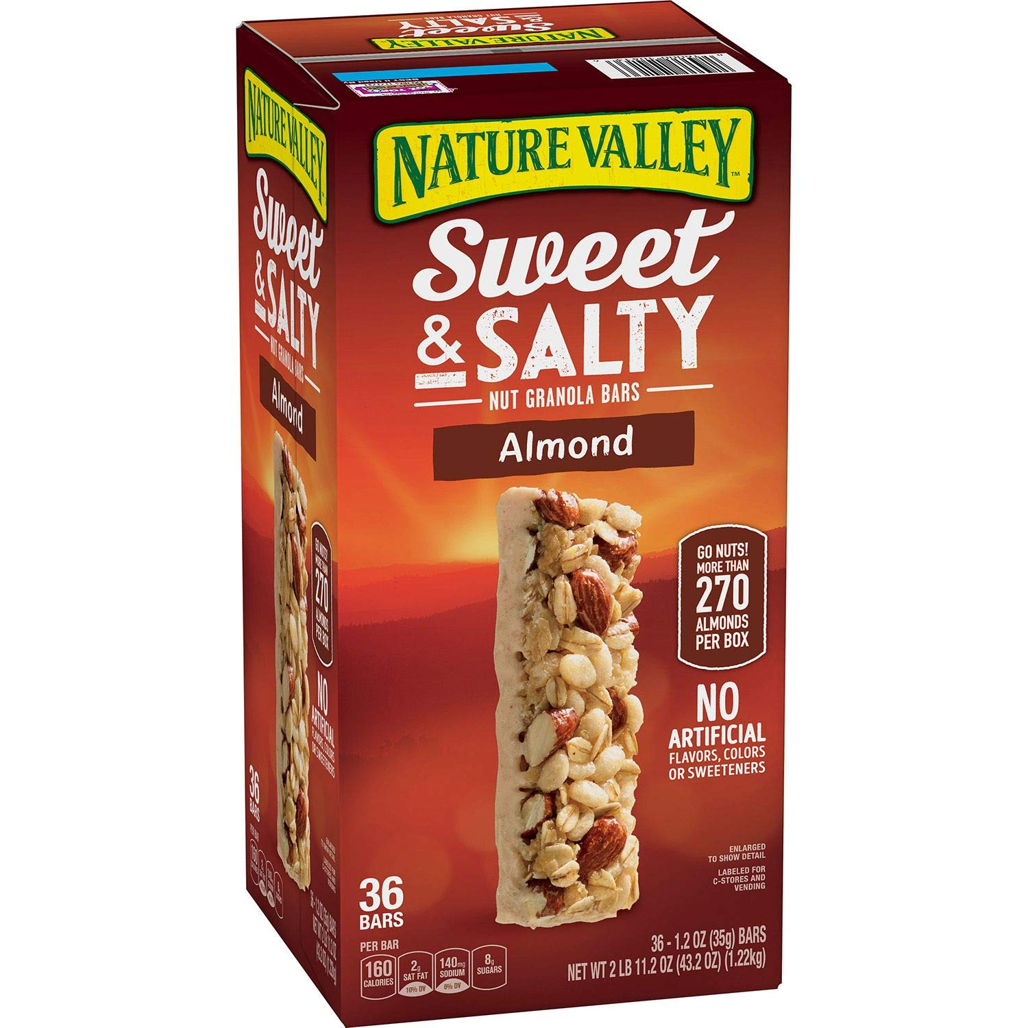 Nature Valley Sweet & Salty Almond Granola Bars (1.2 Oz., 36 ct.)