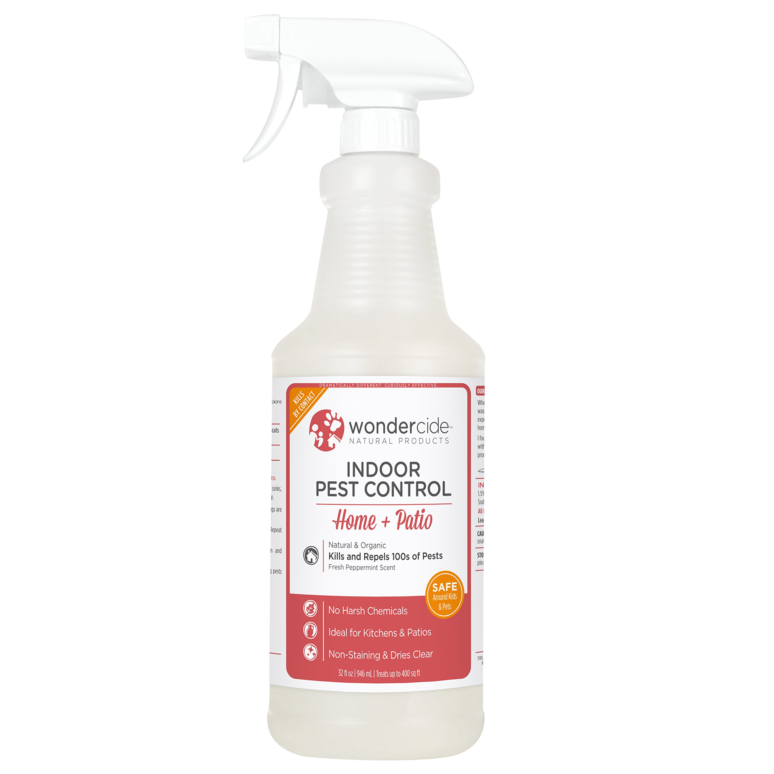 Wondercide Natural Indoor Pest Control Home and Patio Spray 32 oz Peppermint