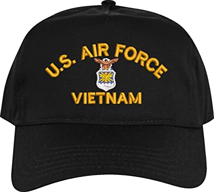 6a77e213 MilitaryBest U.S. Air Force Vietnam Embroidered Cap at Amazon Men's ...