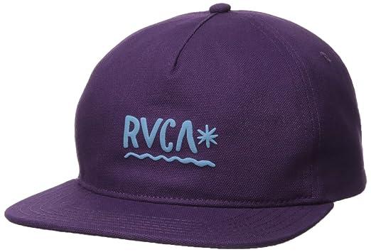 Amazon.com  RVCA Men s Squig Snapback Hat ec549d7c25f