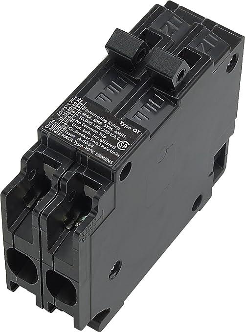 Siemens Q3030 Two 30-Amp Single Pole 120-Volt Non-Current
