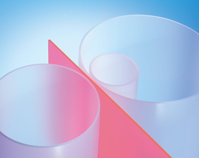 L = 1000 mm // 1 Meter XT Rohr satiniert /ø 80//74 mm Satin Ice Plexiglas/® Satinice DF