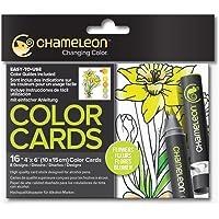 Chameleon Color Cards-Flowers Boyama Kartları, Çiçekler