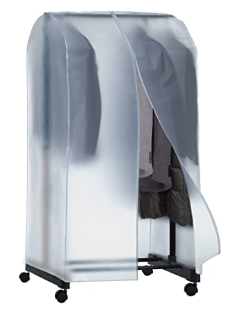 Domopak Living 8001410071651 Envolvente couvrir-Stander, plástico, Transparente, 50 x 95 x 160 cm