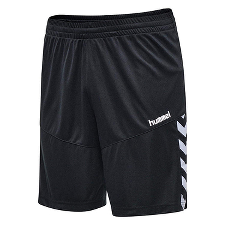 hummel Court Trophy Poly Pantalones Cortos, Hombre, 202150-2001, Negro, Extra-Large