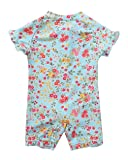 ALove Baby Floral Rash Guard Swimwear One Piece
