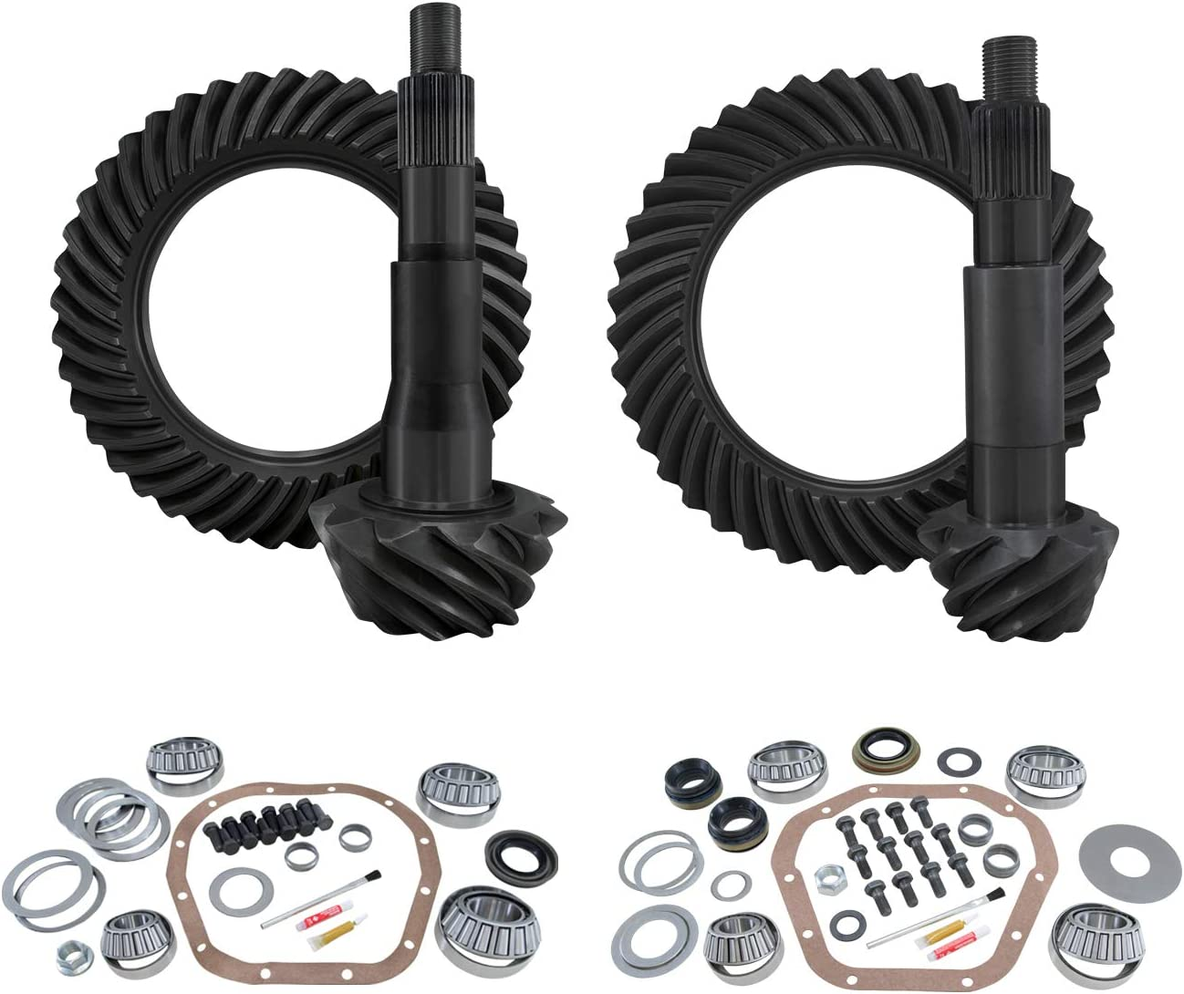 with 4:88 Gear Ratio Yukon Complete Gear and Kit Pakage for 2008-2010 F250 and F350 Dana 60 Reverse