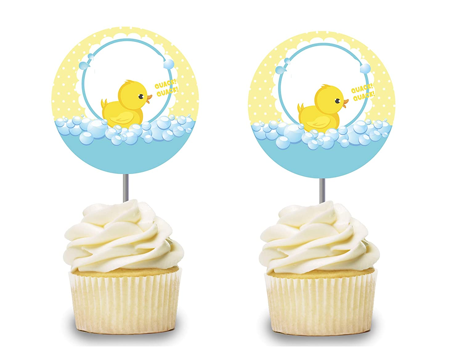 baby shower ducky theme food