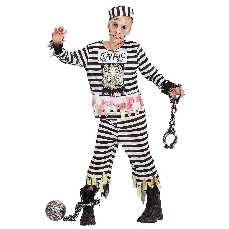 WIDMANN ? Disfraz para niños Zombie sträfling: Amazon.es: Juguetes ...