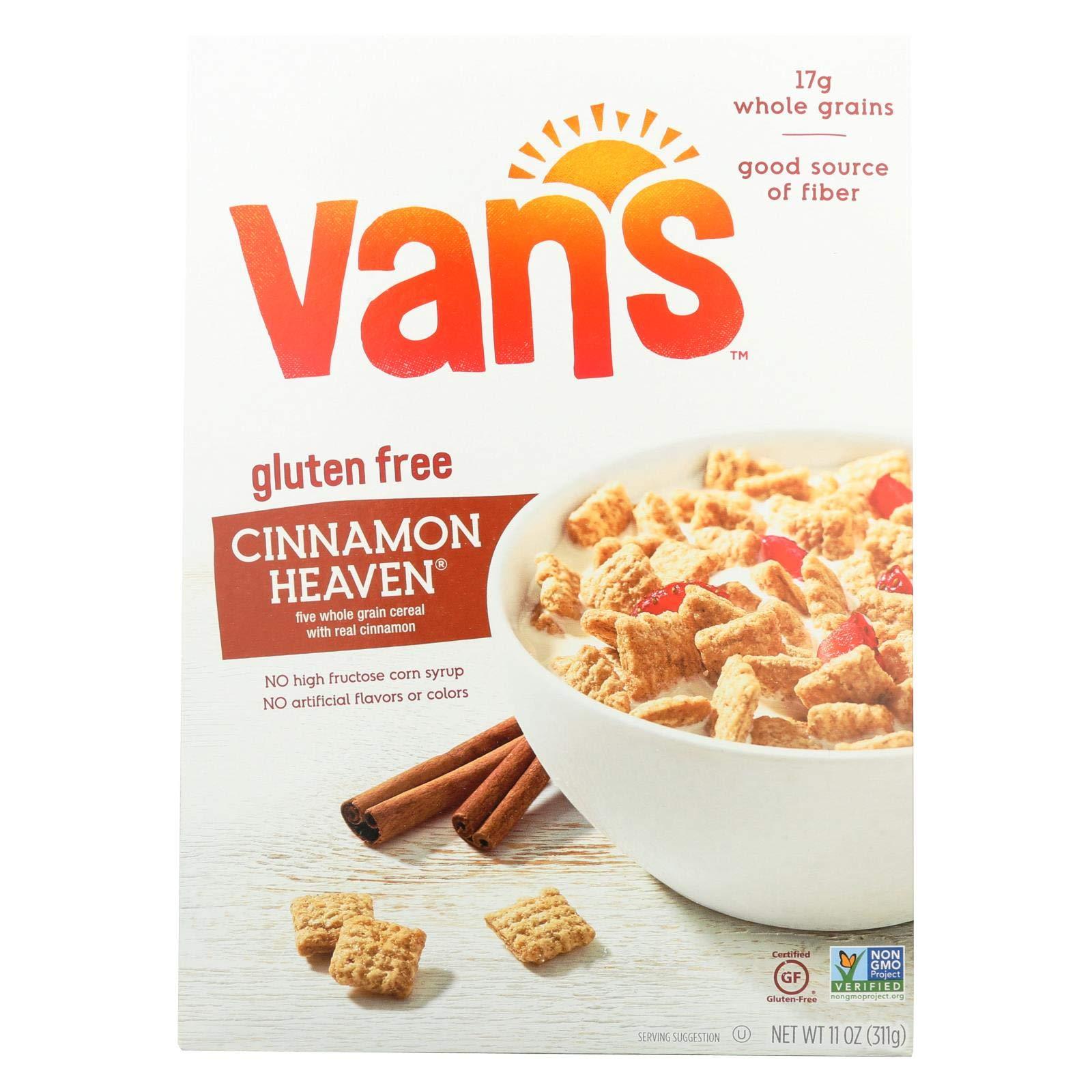 Van's Natural Foods Gluten Free Cereals - Cinnamon Heaven - Case of 6 - 11 oz. by Van's Natural Foods