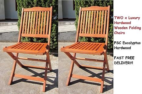 Plegable de jardín de madera redonda para mesa, sillas ...