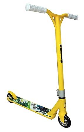 JDBUG MS118Bmx - Patinete, color amarillo, blanco: Amazon.es ...