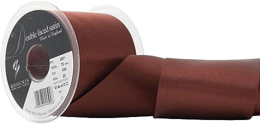 Berisfords Double Satin Ribbon Choose Shade 3 7 10 15 25 35 50 70 mm Widths