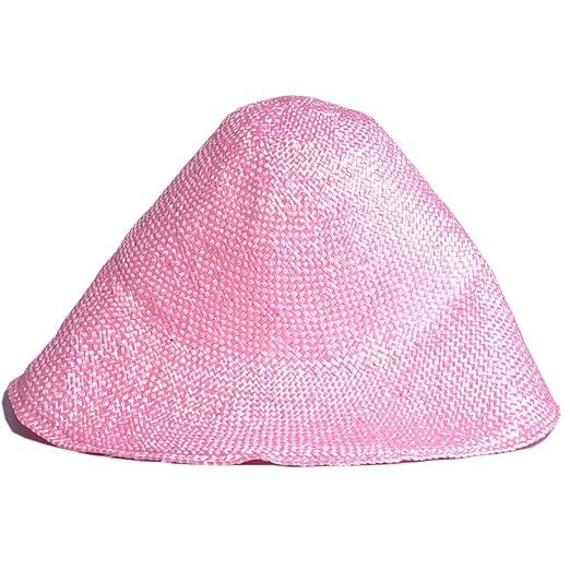 dee7215944d Lawliet Viscose Capeline Hood Fascinator Body millinery Hat Making Block  Cone G003 (Pink)