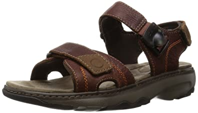 Clarks Men's Raffe Sun Sandals and Floaters Sandals & Floaters at amazon