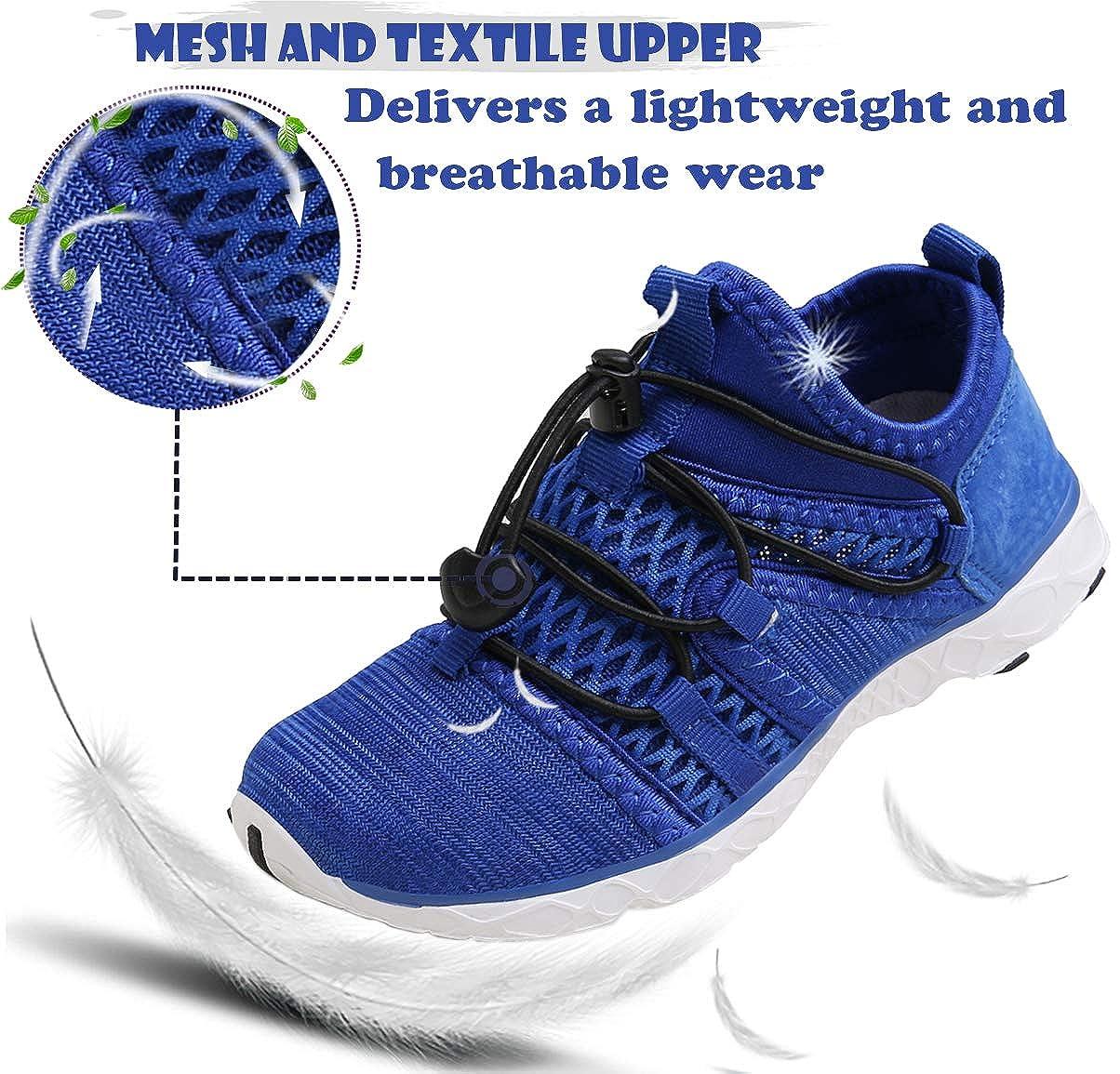 Gaatpot Aqua Escarpines Zapatos para Unisex Ni/ños Zapatillas Ba/ño Deportivas de Agua Playa y Piscina Calzado de Atletismo Sandalia de Verano