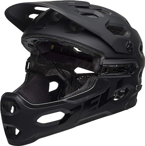 Bell Helmets Super 3R MIPS Integral BMX Helmet M Negro - Cascos para Bicicleta (Integral, BMX Helmet, M, Armazón Duro, Negro, Hombre): Amazon.es: Deportes y aire libre