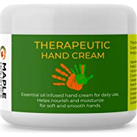 Natural Hand Cream for Dry and Ageing Hands - Women and Men - Best Hand Moisturiser for Sensitive Skin, Cracked Skin and…