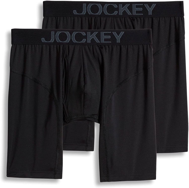 Jockey Men's Underwear RapidCool™ Midway Brief - 2 Pack