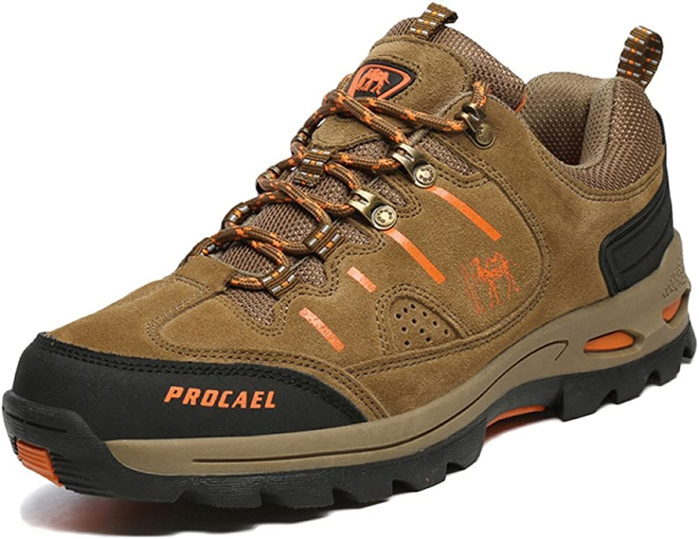 Botas De Montaña para Hombre A Prueba De Agua Ligero Cordones Zapatillas De Escalada Otoño E Invierno Senderismo Al Aire Libre: Amazon.es: Zapatos y complementos