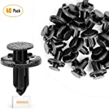 GOOACC Bumper & Radiator Support Clip Automotive Furniture Assembly Expansion Screws Kit Auto Body Clips 8mm - 40PCS
