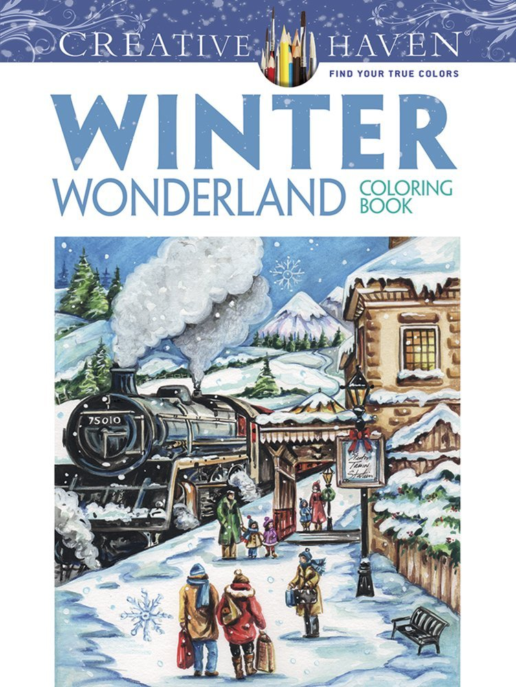 Creative Haven Winter Wonderland Coloring product image