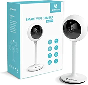 HeimVision 1080P Security Camera, HMA2 WiFi Home Indoor Camera for Pet/Nanny/Baby Monitor, Surveillance IP Camera with Smart Night Vision, Two-Way Audio, Motion Detection, Flexible & Compact