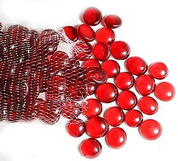 ARSUK Guijarros, cuentas de vidrio y guijarros, pepitas de vidrio, gemas de forma