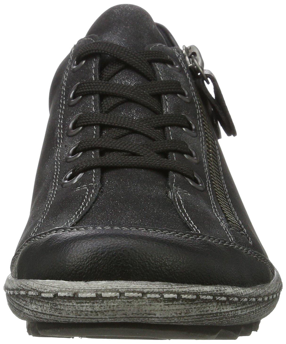 Remonte Damen R1402 Schwarz Sneaker, Schwarz R1402 (Schwarz/Graphit 02) 72c3de
