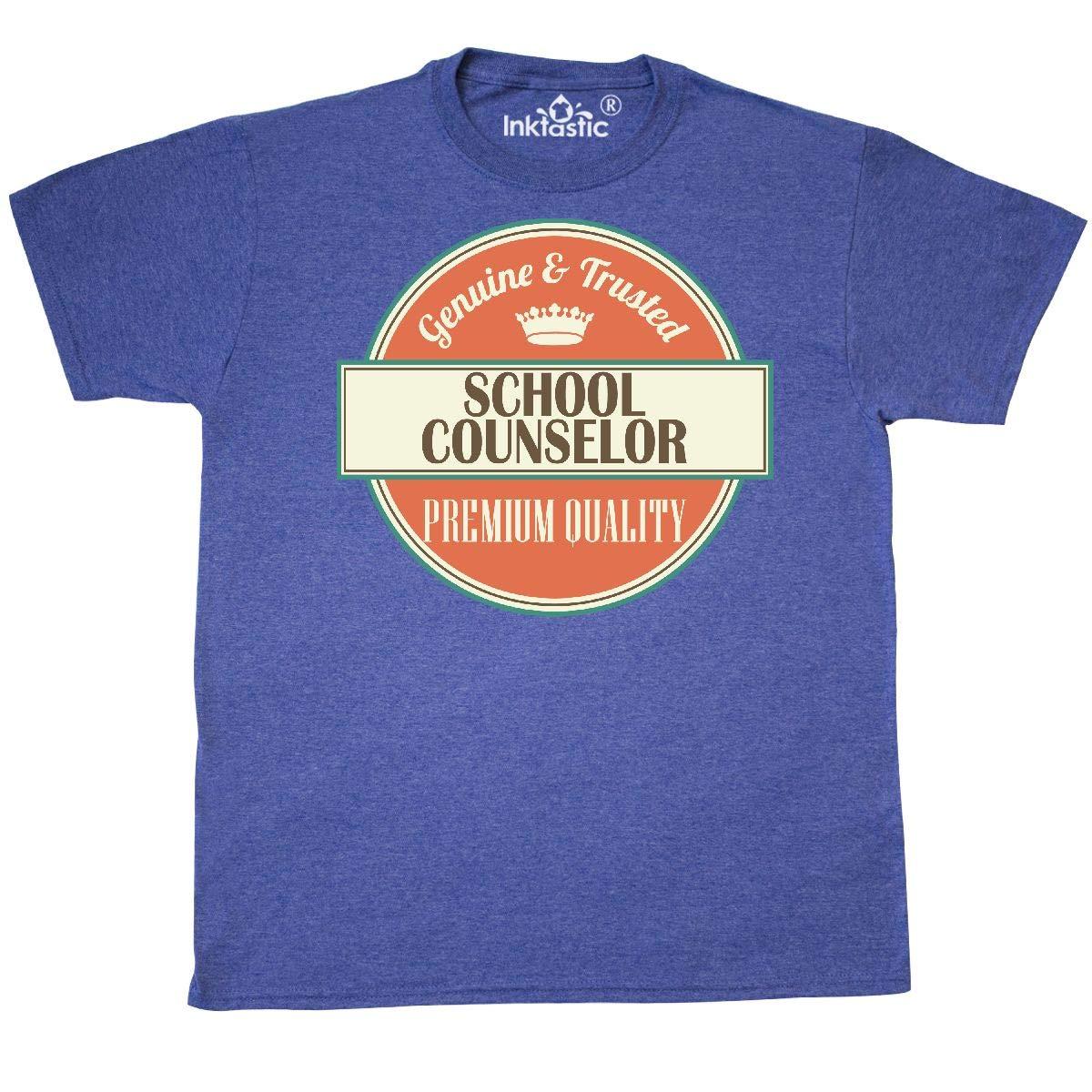 bc3cf91e0 Amazon.com: inktastic - School Counselor Funny Gift Idea T-Shirt 2405a:  Clothing