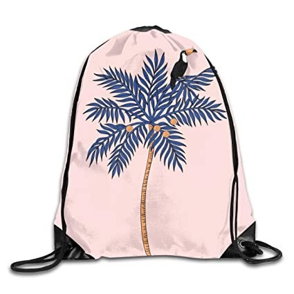bbb688c4e76c Amazon.com | Pink mood Drawstring Backpack Rucksack Shoulder Bags ...