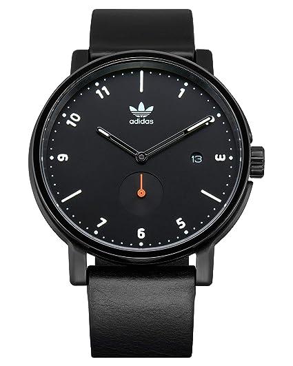 Adidas Originals District LX2 - Reloj de Pulsera (Talla única), Color Negro, Blanco y Naranja: Amazon.es: Relojes