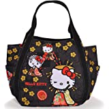 【B8-2】 Hello Kitty ハローキティ 限定 和柄 マザーズバッグ トートバッグ マザーズトートバッグ ■KITTY-WG■